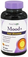 Natrol - Mood+ Fast Dissolve Tangerine - 30 Tablet(s) CLEARANCE PRICED