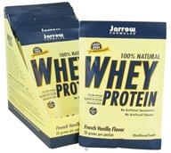 Jarrow Formulas - Whey Protein French Vanilla Flavor - 12 Packet(s) CLEARANCE PRICED, from category: Sports Nutrition