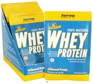 Jarrow Formulas - Whey Protein Unflavored - 12 Packet(s) CLEARANCE PRICED by Jarrow Formulas
