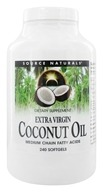 Source Naturals - Extra Virgin Coconut Oil - 240 Softgels by Source Naturals