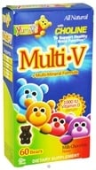 Yum-V's - Multi-V + Multi-Mineral Formula Milk Chocolate - 60 Bears