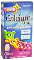 Yum-V's - Calcium Plus D White Chocolate - 40 Bears (899105001179)