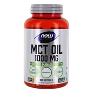 NOW Sports MCT Oil 1000 mg. - 150 Softgels