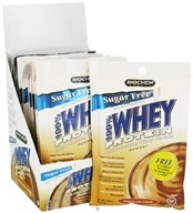 Biochem by Country Life - 100% Whey Protein Powder Sugar Free Chocolate Fudge - 10 Pack(s)