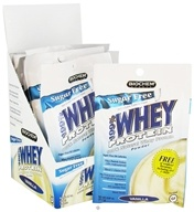 Biochem by Country Life - 100% Whey Protein Powder Sugar Free Vanilla - 10 Pack(s) (015794020783)