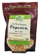 NOW Foods - Certified Organic Popcorn - 24 oz.