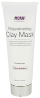 NOW Foods - Rejuvenating Clay Mask - 4.5 oz.