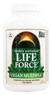 Source Naturals - Life Force Vegan Multiple No Iron - 120 Tablets