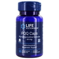 Life Extension - PQQ Caps with BioPQQ 20 mg. - 30 Vegetarian Capsules, from category: Nutritional Supplements