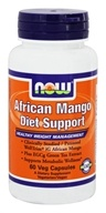 NOW Foods - African Mango Diet Support - 60 Vegetarian Capsules, from category: Diet & Weight Loss