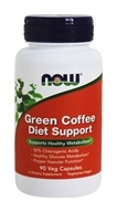 NOW Foods - Green Coffee Diet Support - 90 Vegetarian Capsules