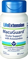 Life Extension - MacuGuard Ocular Support with Astaxanthin - 60 Softgels, from category: Nutritional Supplements