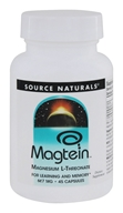 Source Naturals - Magtein 667 mg. - 45 Capsules by Source Naturals