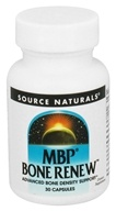 Source Naturals - MBP Bone Renew 40 mg. - 30 Capsules CLEARANCE PRICED (021078024712)