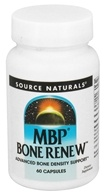 Source Naturals - MBP Bone Renew 40 mg. - 60 Capsules, from category: Nutritional Supplements