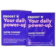 Eboost - Natural Energy Acai Pomegranate - 20 x .25 oz (7.1g) Packets - $22.49