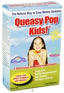 Three Lollies - Queasy Pop Kids! Assorted Flavors - 7 Lollipop(s)