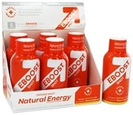 Eboost - Natural Energy Shot Orange - 2 oz. (856541002122)