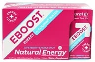 Eboost - Natural Energy Shot Super Berry - 2 oz.