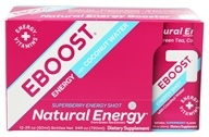 Eboost - Natural Energy Shot Super Berry - 2 oz. (856541002009)