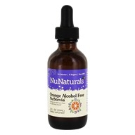 NuNaturals - Pure Liquid NuStevia Alcohol Free Orange - 2 oz.