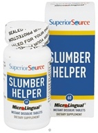 Superior Source - Slumber Helper Instant Dissolve - 60 Tablets CLEARANCE PRICED, from category: Herbs
