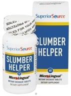 Superior Source - Slumber Helper Instant Dissolve - 60 Tablets CLEARANCE PRICED - $5.33