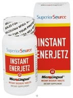 Superior Source - Instant Enerjetz Instant Dissolve - 60 Tablets - $8.99