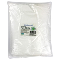 NuNaturals - NuStevia White Stevia Pure Extract Powder - 1 kg.