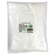 NuNaturals - NuStevia White Stevia Pure Extract Powder - 1 kg. by NuNaturals