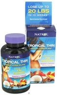 Image of Natrol - Tropical Thin Weight Loss Plan - 60 Capsules