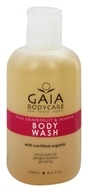 Gaia Skin Naturals - Gaia Bodycare Body Wash Pink Grapefruit & Jasmine - 8.4 oz.