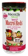 MacroLife Naturals - Macro Reds For Kids Berri - 14.2 oz. CLEARANCE PRICED, from category: Nutritional Supplements