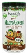 MacroLife Naturals - Macro Coco Greens Superfood for Kids - 14 oz.
