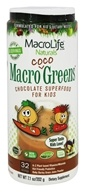 MacroLife Naturals - Macro Coco Greens Superfood for Kids Coco Greens - 7.1 oz.