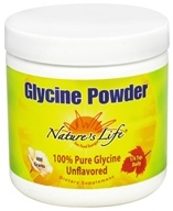 Nature's Life - Glycine Powder 1000 mg. - 14.1 oz., from category: Nutritional Supplements