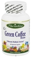 Paradise Herbs - Green Coffee Bean 800 mg. - 60 Vegetarian Capsules, from category: Diet & Weight Loss