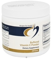 Designs For Health - Buffered Vitamin C Powder - 240 Grams