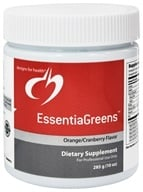 Designs For Health - EssentiaGreens Orange Cranberry Flavor - 285 Grams by Designs For Health