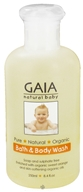Image of Gaia Skin Naturals - Gaia Natural Baby Bath & Body Wash - 8.4 oz.