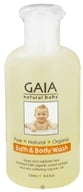 Gaia Skin Naturals - Gaia Natural Baby Bath & Body Wash - 8.4 oz.