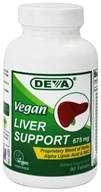 Deva Nutrition - Liver Support Vegan 675 mg. - 90 Tablets - $9.35