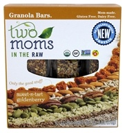 Two Moms in The Raw - Gluten Free Organic Granola Sweet-n-Tart Goldenberry - 6 Bars
