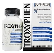 truDERMA - Troxyphen Fat Burning TestBooster - 60 Capsules, from category: Sports Nutrition