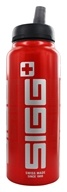 Image of Sigg - Aluminum Water Bottle Active Top SIGGnificant Red - 1 Liter