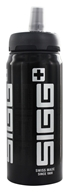 Image of Sigg - Aluminum Water Bottle Active Top SIGGnificant Black - 0.6 Liter