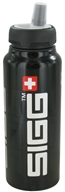 Image of Sigg - Aluminum Water Bottle Active Top SIGGnificant Black - 1 Liter