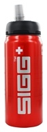 Image of Sigg - Aluminum Water Bottle Active Top SIGGnificant Red - 0.6 Liter