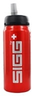 Sigg - Aluminum Water Bottle Active Top SIGGnificant Red - 0.6 Liter