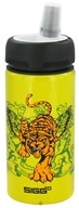 Sigg - Aluminum Water Bottle Active Top For Kids Tiger - 0.4 Liter